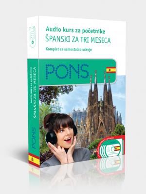 PONS Španski za tri meseca - audio kurs za početnike