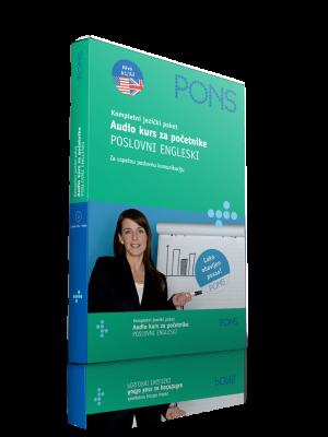 PONS Poslovni engleski - audio kurs za početnike