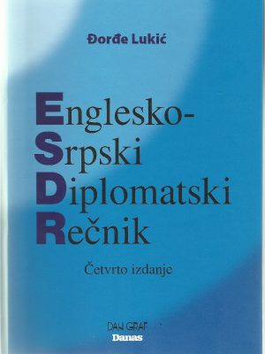 ENGLESKO-SRPSKI DIPLOMATSKI REČNIK