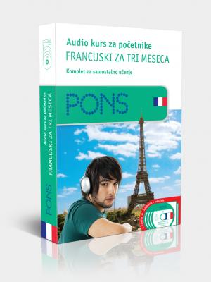 PONS Francuski za tri meseca - audio kurs za početnike