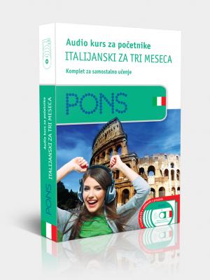 PONS Italijanski za tri meseca - audio kurs za početnike