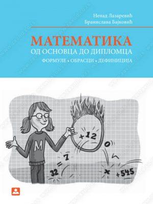 Matematika: od osnovca do diplomca - formule, obrasci, definicije 76000