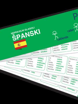 PONS Nepravilni glagoli španski