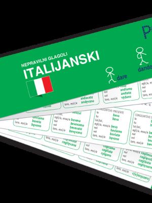 PONS Nepravilni glagoli italijanski