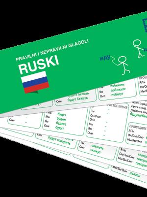 PONS Nepravilni glagoli ruski
