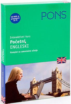 PONS Početni engleski - interaktivni kurs