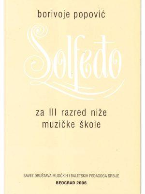 SOLFEĐO III