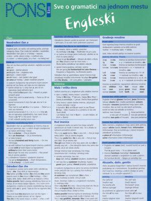 PONS Sve o gramatici na jednom  mestu - Engleski