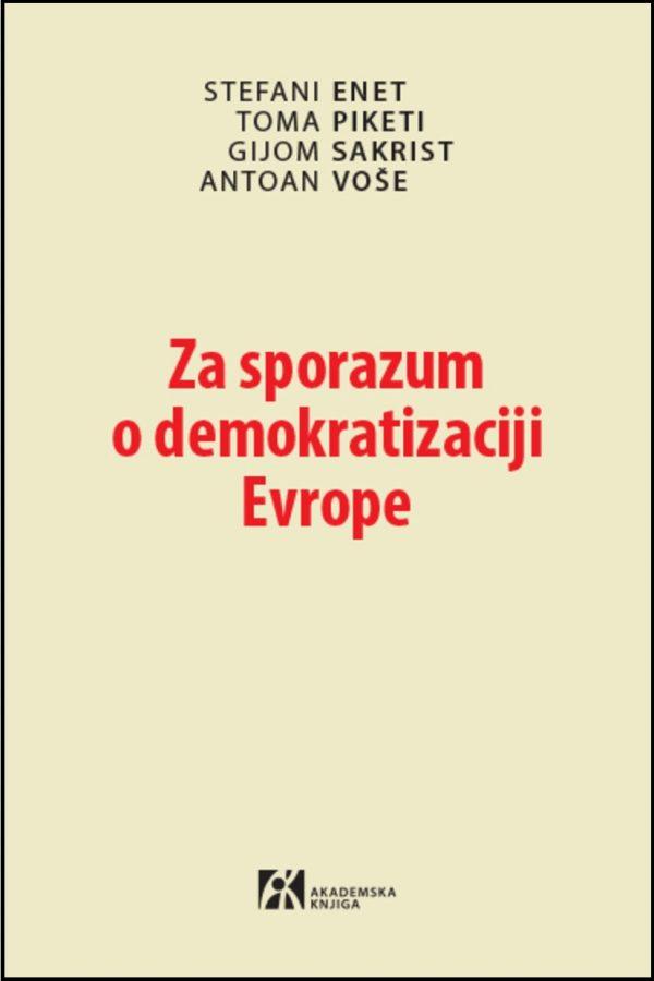 Za sporazum o demokratizaciji
